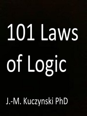 cover image of 101 Laws of Logic