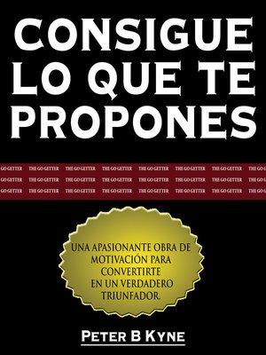 cover image of Consigue lo que te Propones