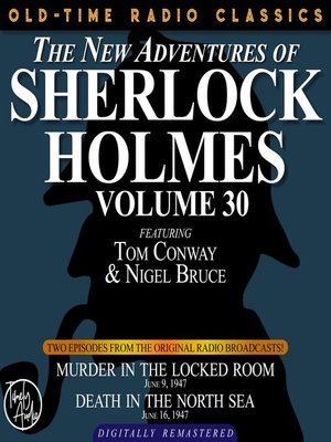 cover image of The New Adventures of Sherlock Holmes, Volume 30, Episode 1