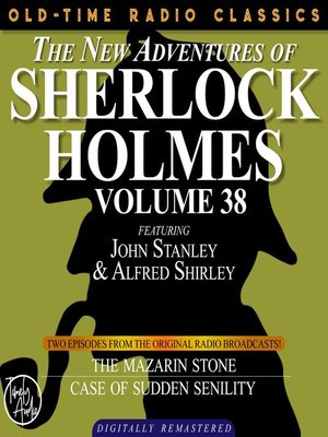 cover image of The New Adventures of Sherlock Holmes, Volume 38, Episode 1