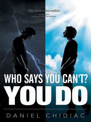 cover image of Who Says You Can't? YOU DO