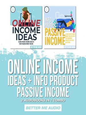cover image of Online Income Ideas + Info Product Passive Income