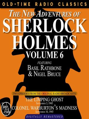 cover image of The New Adventures of Sherlock Holmes, Volume 6, Episode 1