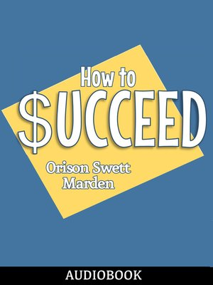 cover image of How to Succeed