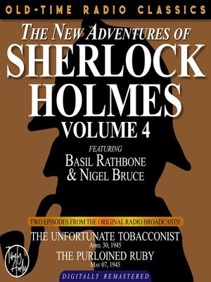 cover image of The New Adventures of Sherlock Holmes, Volume 4, Episode 1