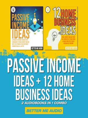 cover image of Passive Income Ideas + 12 Home Business Ideas