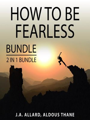 cover image of How to Be Fearless Bundle, 2 in 1 Bundle