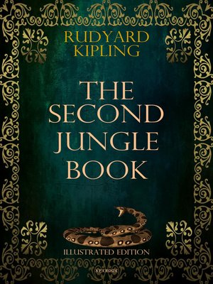 cover image of The Second Jungle Book (Illustrated Edition)