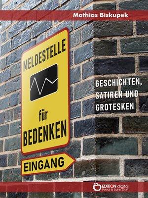 cover image of Meldestelle für Bedenken