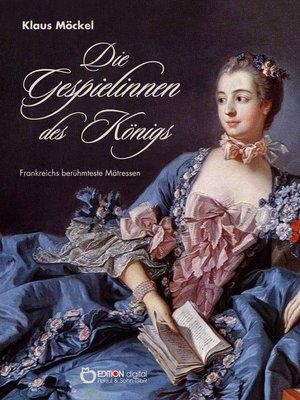 cover image of Die Gespielinnen des Königs