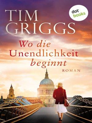 cover image of Wo die Unendlichkeit beginnt