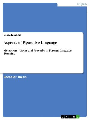 cover image of Aspects of Figurative Language