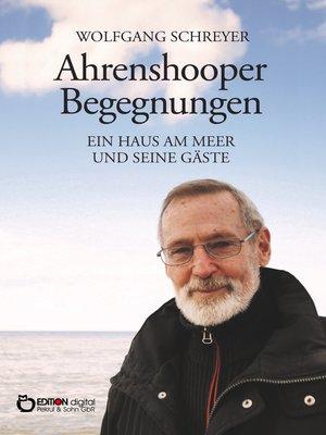cover image of Ahrenshooper Begegnungen