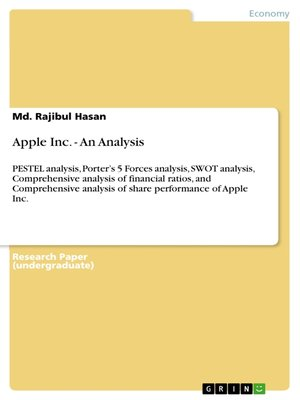cover image of Apple Inc.--An Analysis