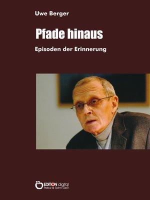 cover image of Pfade hinaus