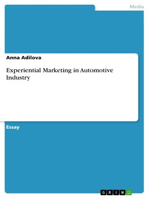 cover image of Experiential Marketing in Automotive Industry