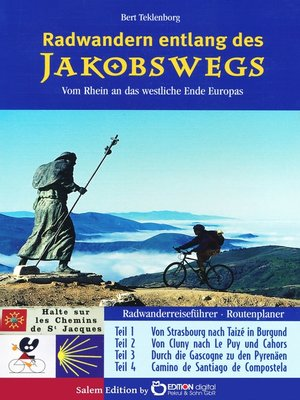 cover image of Radwandern entlang des Jakobswegs