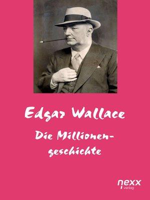 cover image of Die Millionengeschichte