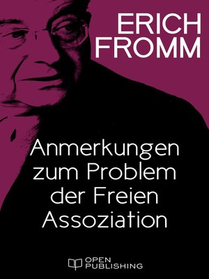 cover image of Anmerkungen zum Problem der Freien Assoziation