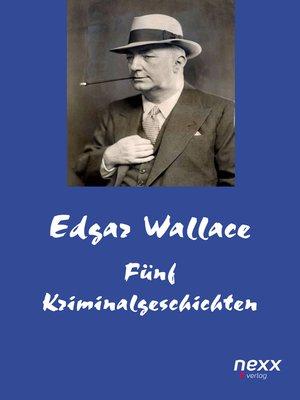 cover image of Fünf Kriminalgeschichten
