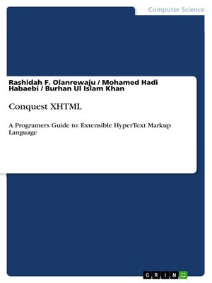 cover image of Conquest XHTML
