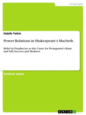 cover image of Power Relations in Shakespeare's Macbeth