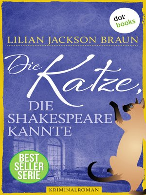 cover image of Die Katze, die Shakespeare kannte--Band 7