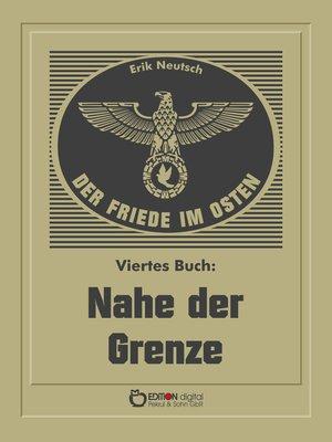 cover image of Der Friede im Osten. Viertes Buch