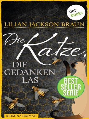 cover image of Die Katze, die Gedanken las--Band 29