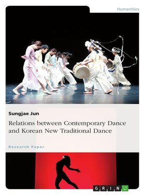 cover image of Relations between Contemporary Dance and Korean New Traditional Dance