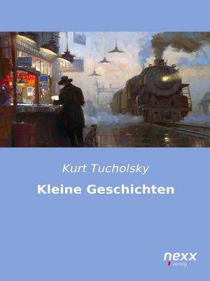 cover image of Kleine Geschichten