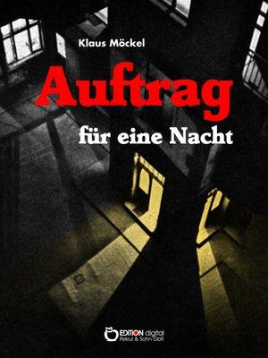 cover image of Auftrag für eine Nacht