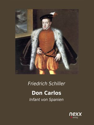 cover image of Don Carlos, Infant von Spanien