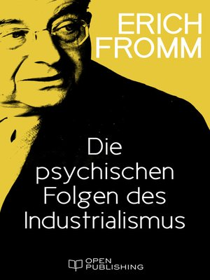 cover image of Die psychischen Folgen des Industrialismus