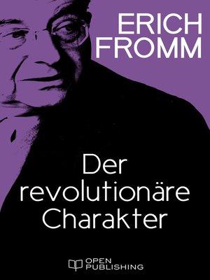 cover image of Der revolutionäre Charakter