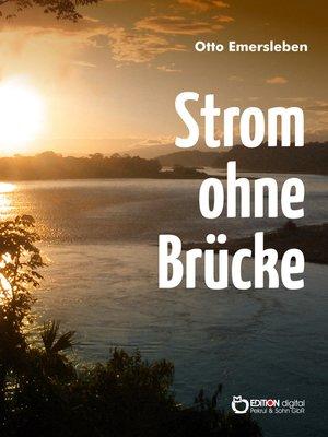 cover image of Strom ohne Brücke