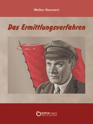 cover image of Das Ermittlungsverfahren