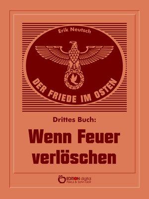 cover image of Der Friede im Osten. Drittes Buch