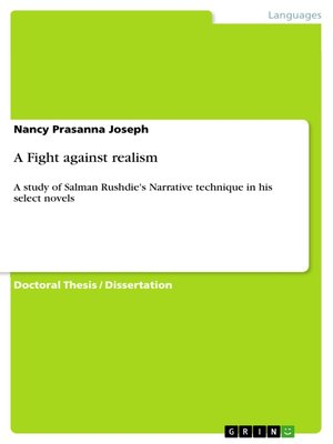 cover image of A Fight against realism
