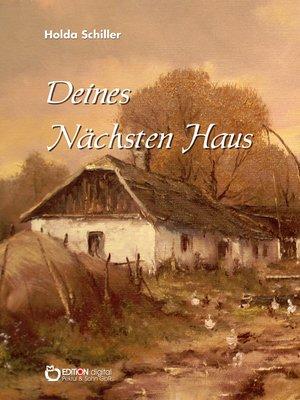 cover image of Deines Nächsten Haus