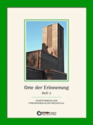 cover image of Orte der Erinnerung
