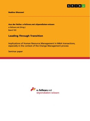 cover image of Leading Through Transition
