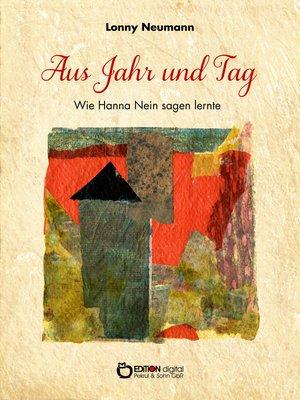 cover image of Aus Jahr und Tag