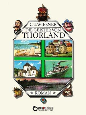 cover image of Die Geister von Thorland