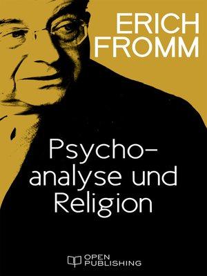 cover image of Psychoanalyse und Religion