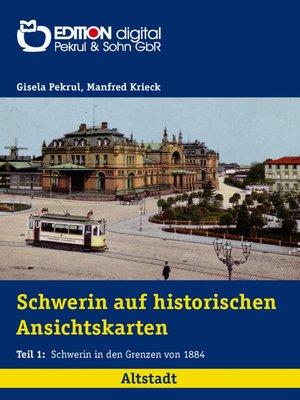 cover image of Altstadt: Schwerin in den Grenzen von 1884