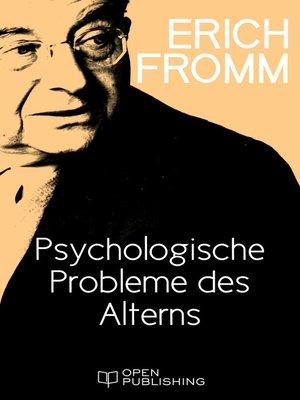 cover image of Psychologische Probleme des Alterns