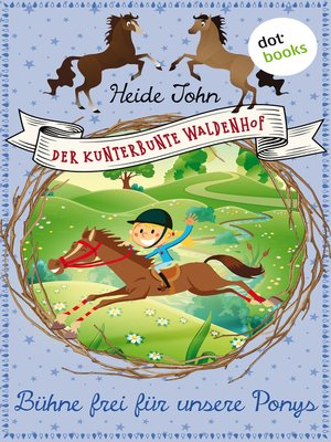 cover image of Bühne frei für unsere Ponys--Band 3
