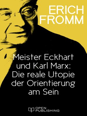 cover image of Meister Eckhart und Karl Marx