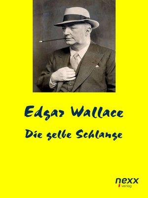 cover image of Die gelbe Schlange